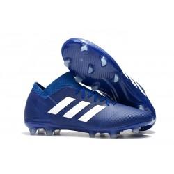 adidas Nemeziz Messi 18.1 FG Korki Pilkarskie - Niebieski Biały