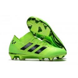 adidas Nemeziz Messi 18.1 FG Korki Pilkarskie - Zielony Czarny