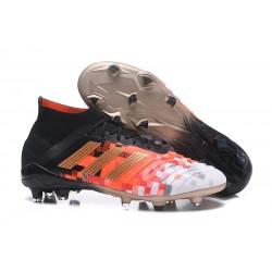 Buty piłkarskie 2018 adidas Predator 18.1 Telstar FG - Czarny Złoto Czerwony