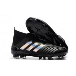 Buty piłkarskie 2018 adidas Predator 18.1 FG - Czarny Srebro