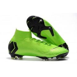 Nike Buty Piłkarskie Mercurial Superfly 6 Elite FG - Zielony Czarny