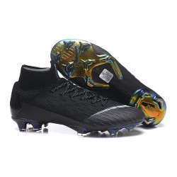 Nike Buty Piłkarskie Mercurial Superfly 6 Elite FG - Czarny Biały