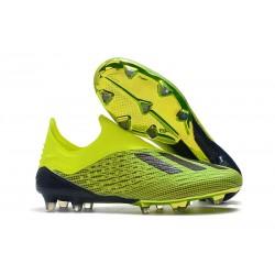 adidas X 18+ FG Buty Piłkarskie - Zielony Czarny