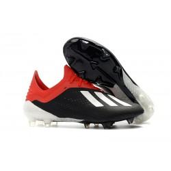 Adidas Buty adidas X 18.1 FG Czarny Czerwony Biały