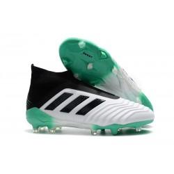 Adidas Buty Korki Predator 18+ FG - Biały Zielony Czarny