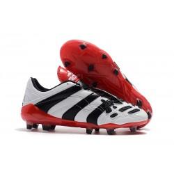Adidas Buty Korki Predator Accelerator Electricity FG - Biały Czarny Czerwony