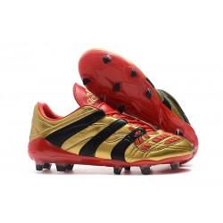 Adidas Buty Korki Predator Accelerator Electricity FG - Złoty Czarny Czerwony