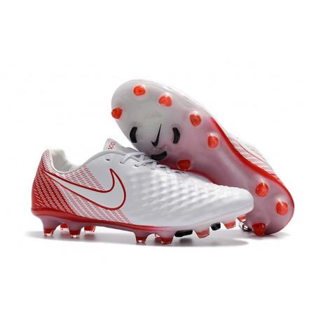 Korki Piłkarskie Nike Magista Opus II FG Biały Czerwony
