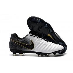 Nike Tiempo Elite FG ACC Korki Pilkarskie - Czarny Biały