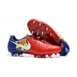 Korki Piłkarskie Nike Magista Opus II FG Barcelona Czerwony