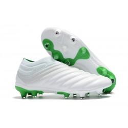 adidas Buty Piłkarskie Copa 19+ FG - Biały Zielony