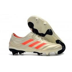 Korki Pilkarskie adidas Copa 19.1 FG - Biały Pomarańczowy