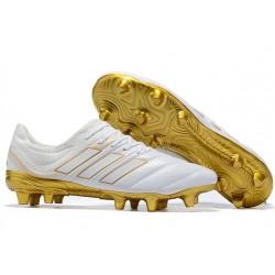 Korki Pilkarskie adidas Copa 19.1 FG - Biały Złoty
