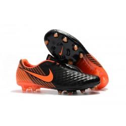 Nike Buty Magista Opus 2 FG Meskie Czarny Pomarańczowy