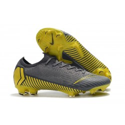 Buty Piłkarskie Nike Mercurial Vapor XII Elite FG - Czarny Wilczy Złoto