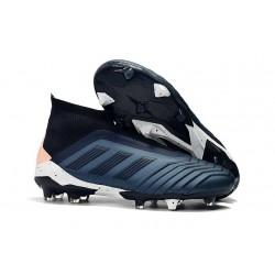 Adidas Buty Korki Predator 18+ FG - Cyjan Czarny