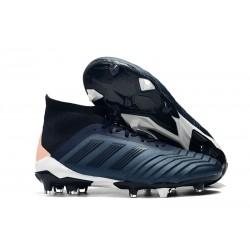 adidas Predator 18.1 FG Korki Pilkarskie - Cyjan Czarny