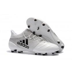 Buty adidas X 17.1 FG Meskie - Biały Czarny
