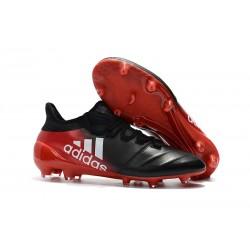 Buty adidas X 17.1 FG Meskie - Czarny Czerwony