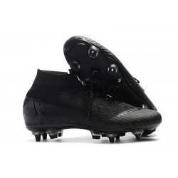 Nike Mercurial Superfly 6 Elite Anti-Clog SG-Pro Czarny
