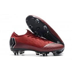 Nike Mercurial Vapor 12 Elite SG-PRO Anti Clog Czerwony Czarny