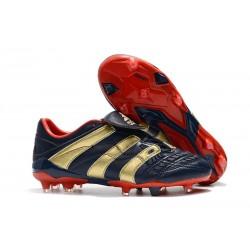Adidas Buty Korki Predator Accelerator Electricity FG - Cyjan Czerwony Złoty