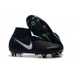 Buty Piłkarskie Nike Phantom VSN Elite DF SG-Pro AC Czarny Niebieski