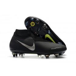 Buty Piłkarskie Nike Phantom VSN Elite DF SG-Pro AC Czarny Srebro