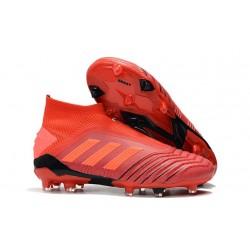 adidas Predator 19+ FG Buty Piłkarskie - Czerwony