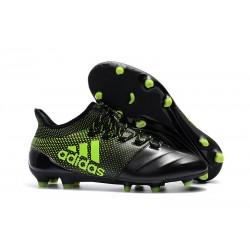 Buty adidas X 17.1 FG Meskie - Czarny Zielony