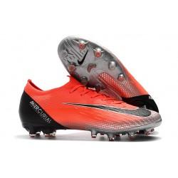Nike Mercurial Vapor XII Elite AG-Pro Czerwony Czarny Srebro
