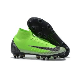Cristiano Ronaldo Nike Mercurial Superfly 6 Elite Anti-Clog SG-Pro Zielony