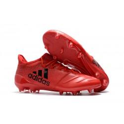Buty adidas X 17.1 FG Meskie - Czerwony Czarny