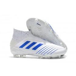 adidas Predator Virtuso 19+ FG Buty Piłkarskie - Biały Niebieski