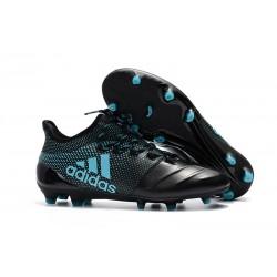 Korki Piłkarskie adidas X 17.1 FG - Czarny Niebieski