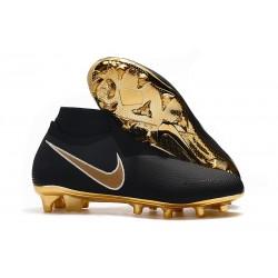 Nike Buty Piłkarskie Phantom Vision DF FG - Czarny Złoto