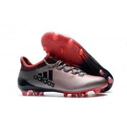 Korki Piłkarskie adidas X 17.1 FG - Różowy Czarny