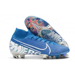 Buty Nike Mercurial Superfly 7 Elite DF FG - New Lights Niebieski