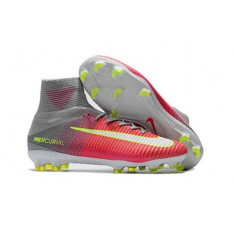Buty Piłkarskie Nike Mercurial Superfly V FG Hematite Pomarańczowy