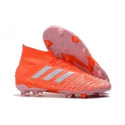 Buty piłkarskie adidas Predator 19.1 FG - Pomarańczowy Biały