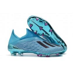 Buty Piłkarskie adidas X 19+ FG Niebieski Czarny
