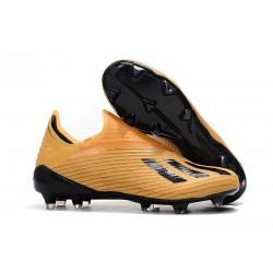 Buty Piłkarskie adidas X 19+ FG Pomarańczowy Czarny