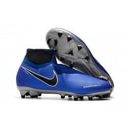 Nike Phantom VSN Elite Dynamic Fit FG Korki Pilkarskie - Niebieski Czarny