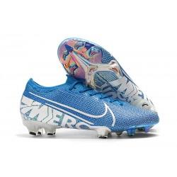 Buty piłkarskie Nike Mercurial Vapor XIII Elite FG Niebieski Biały