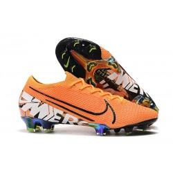 Buty piłkarskie Nike Mercurial Vapor XIII Elite FG Pomarańczowy
