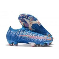 Buty piłkarskie Nike Mercurial Vapor XIII Elite FG Niebieski Czerwony