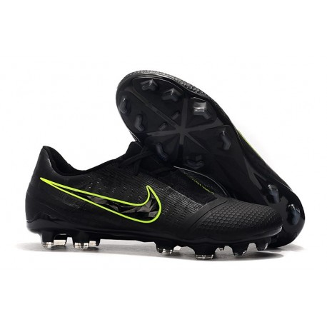 Nike Phantom Venom Elite Fg Korki Pilkarskie Czarny Fluorescencyjny
