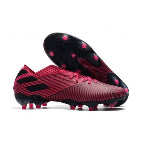 adidas Nemeziz 19.1 FG Buty - Różowy Czarny