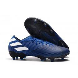 adidas Nemeziz 19.1 FG Buty - Niebieski Biały