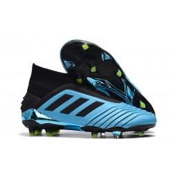 Korki Pilkarskie adidas Predator 19+ FG Niebieski Czarny